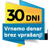30-dnevna garancija vrnitve denarja
